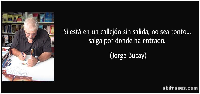 Frase de Jorge Bucay
